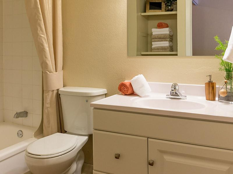Bathroom | Timber Lodge Apartments