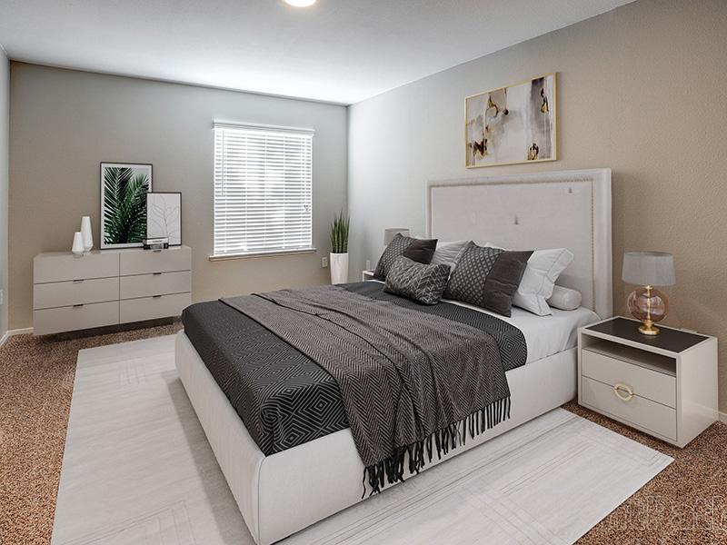 Bedroom | Phoenix Townhomes Apartments