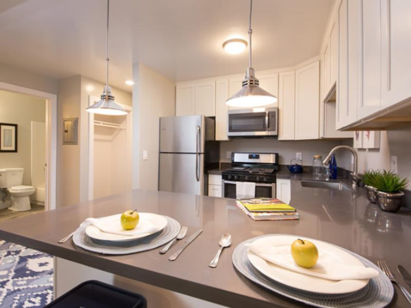 Kitchen | Solis Garden Apartments