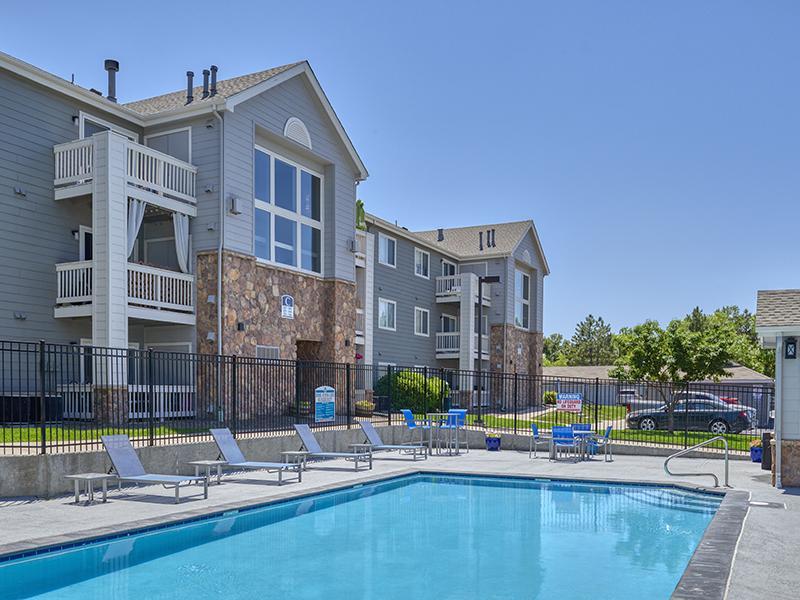 Pool | Echo Ridge at North Hills Apartments in Northglenn, CO