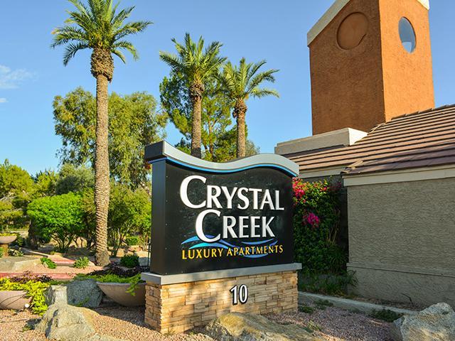 Sign | Crystal Creek AZ Apts in Phoenix, AZ