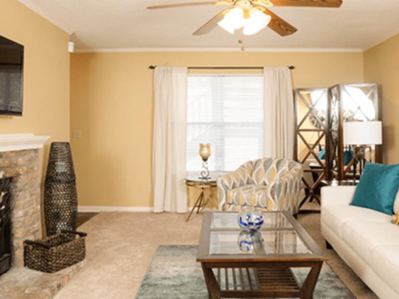 Living Space | Van Mark Apartments