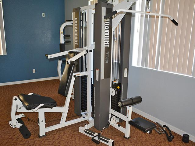 Gym | Lindsay Palms Apartments