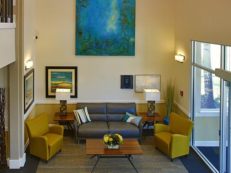 Clubhouse Interior | V-Esprit Senior Apartments in Aurora Colorado