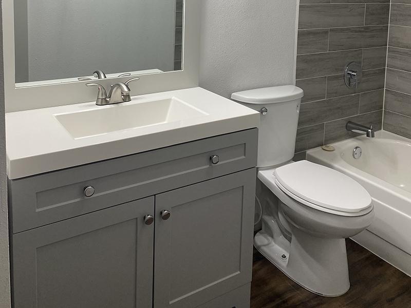 Bathroom 5 | SkyVue Apartments in San Antonio, TX
