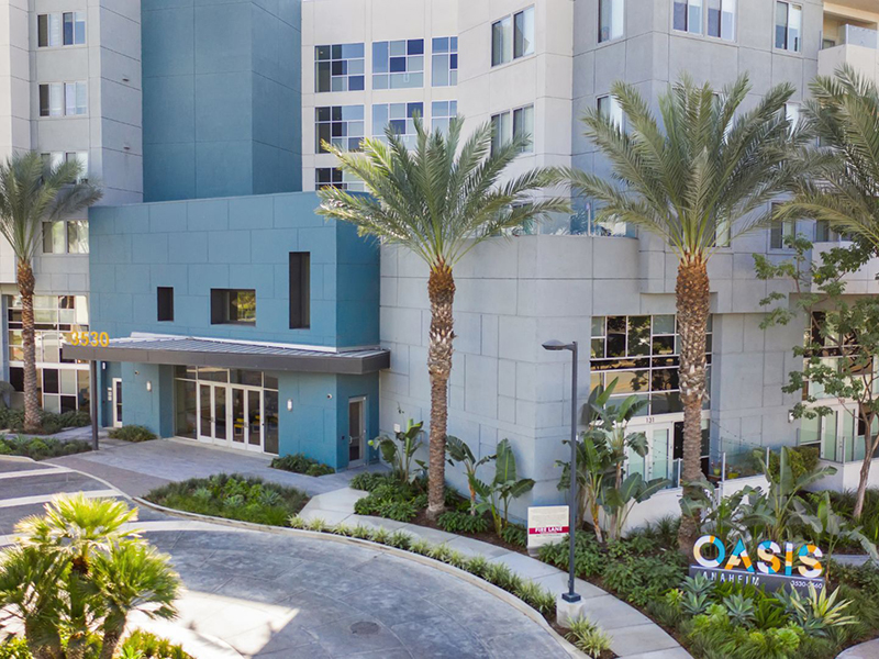 Entrance | The Oasis Apartments