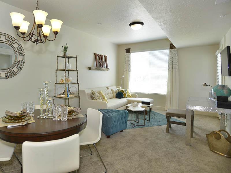Living Room | Birkhill Apartments in Murray, UT