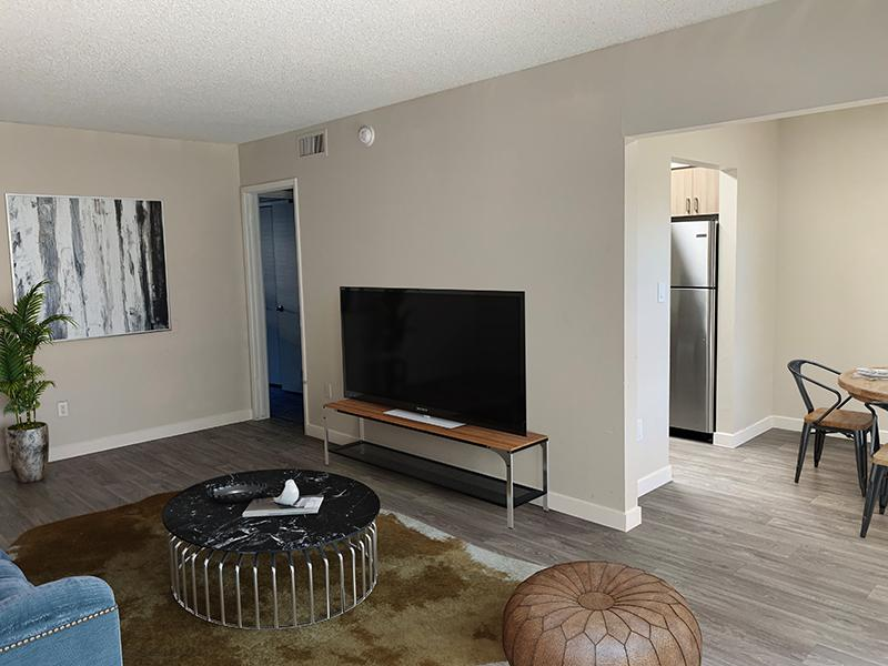 1x1 Living Room | Avalon Apartments