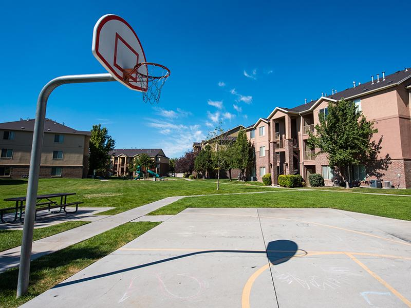 Apartments With a Basketball Court | Pleasant Springs Apartments