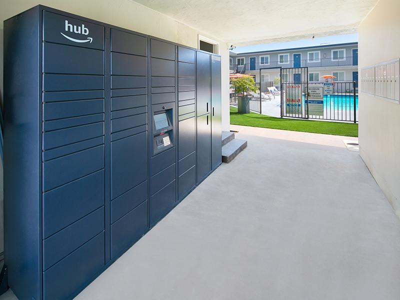 Amazon Locker Hub | Bay Vista Apartments