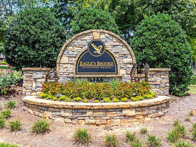 Welcome Sign | Eagle's Brooke in Locust Grove, GA