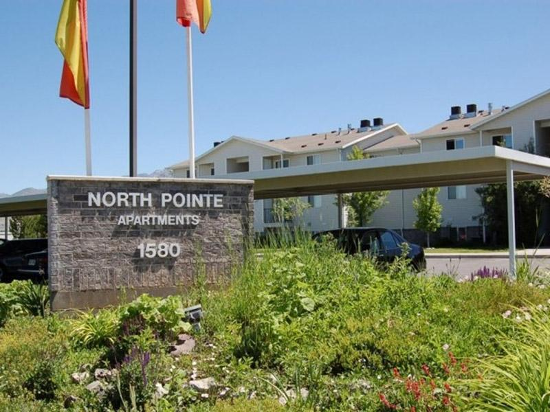 Welcome Sign | North Pointe Apartments