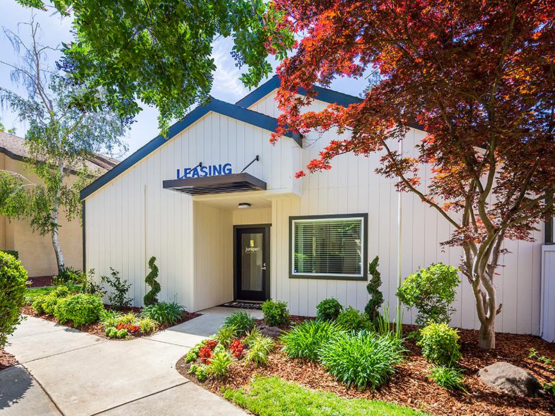 Clubhouse Exterior | The Juniper Apartments in Sacramento, CA