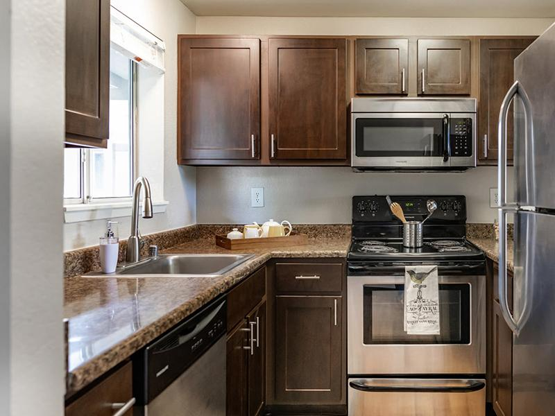 Kitchen | Latitude Apartments in Everett, WA