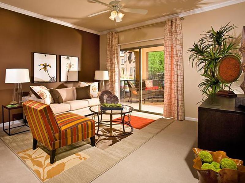 Living Room | Serafina Apartment Homes