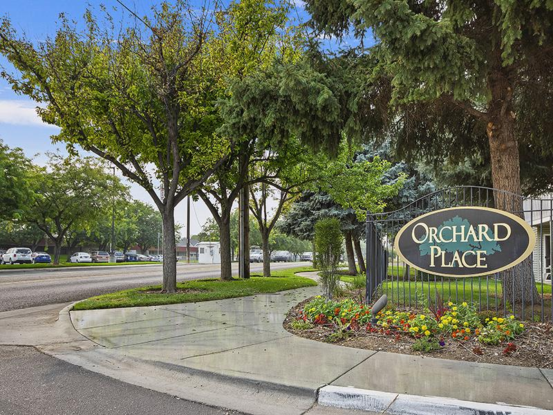 Welcome Sign | Orchard Place Apartments in Nampa, Idaho