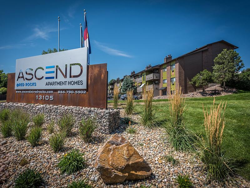 Welcome Sign | Ascend at Red Rocks 80228 Apartments