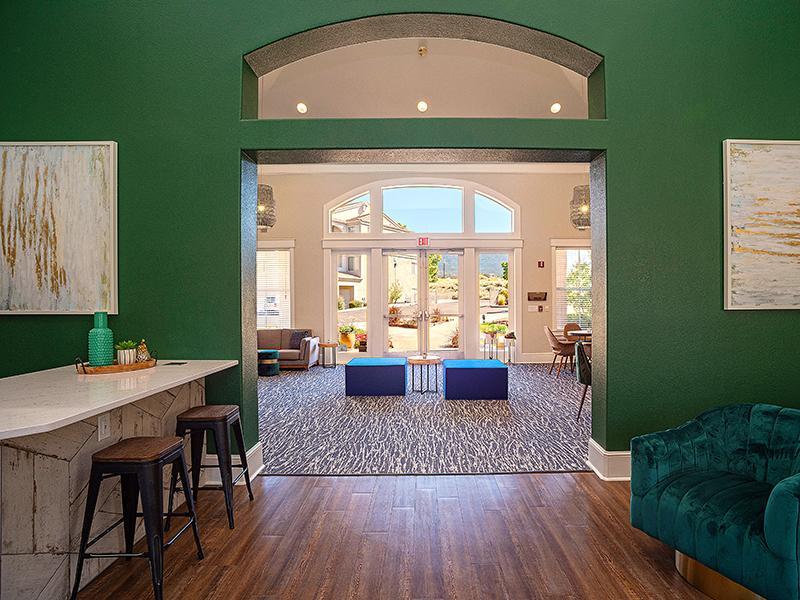 Clubhouse Interior  | Allegro at Tanoan Apartments in Albuquerque NM