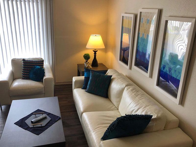 San Antonio Station | Beautiful Living Room