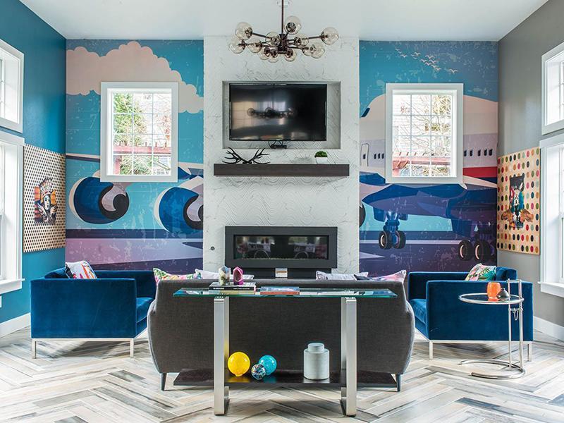Clubhouse Interior | Brookside Village in Auburn, WA