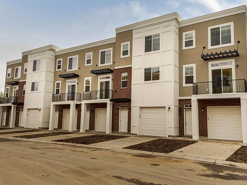 Exterior | Odell Crossing Townhomes
