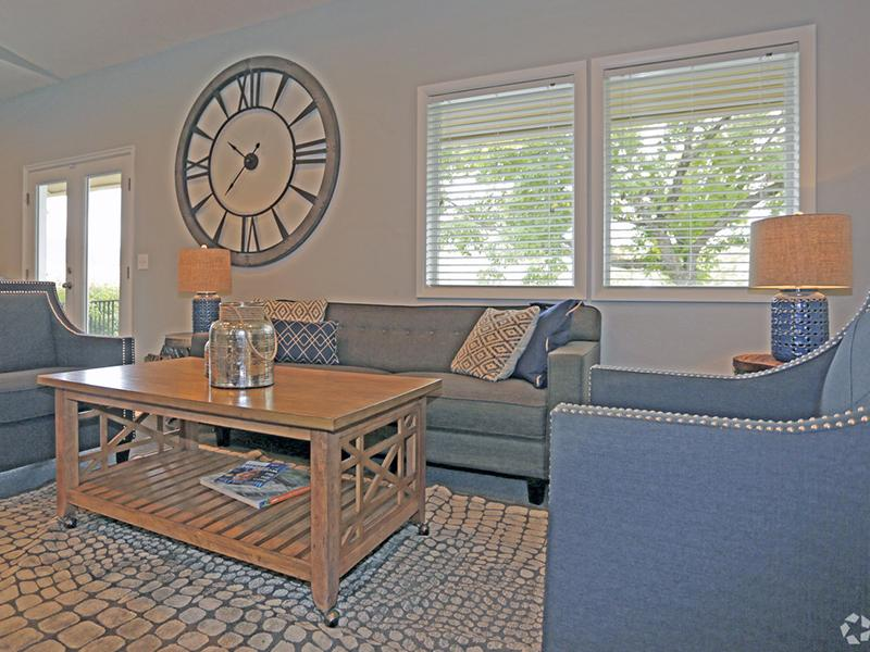 Club House Lounge | Layton Meadows Apartments