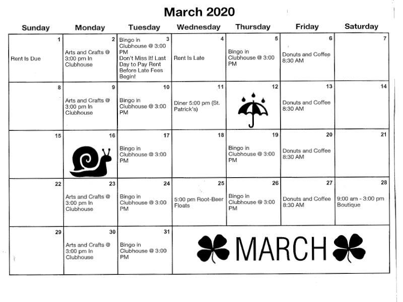 Calendar | Costa Azul