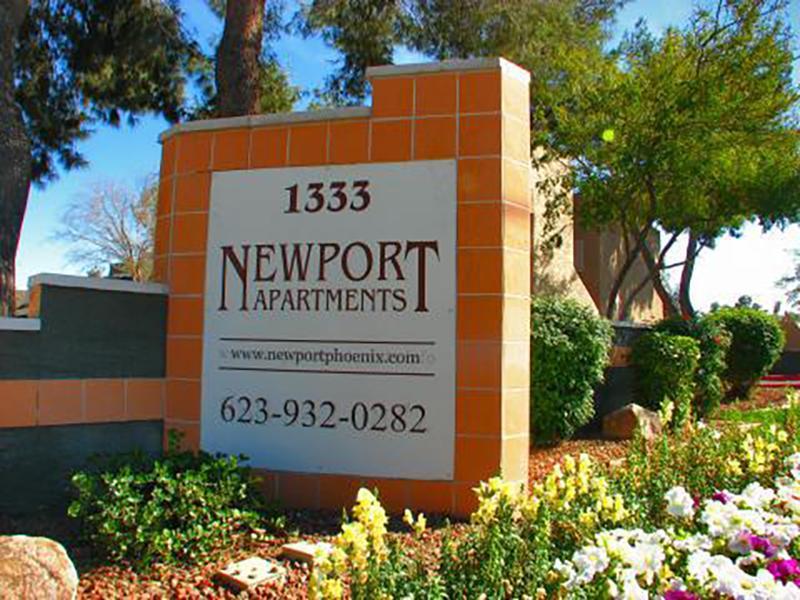 Sign | Newport