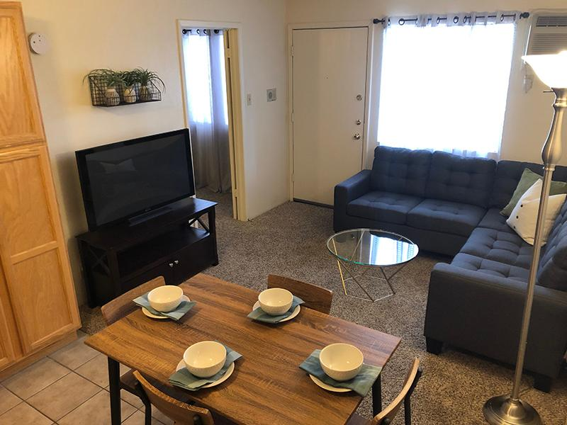 Living Room | Rain Village Apartments