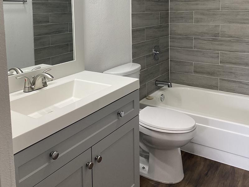Bathroom 4 | SkyVue Apartments in San Antonio, TX