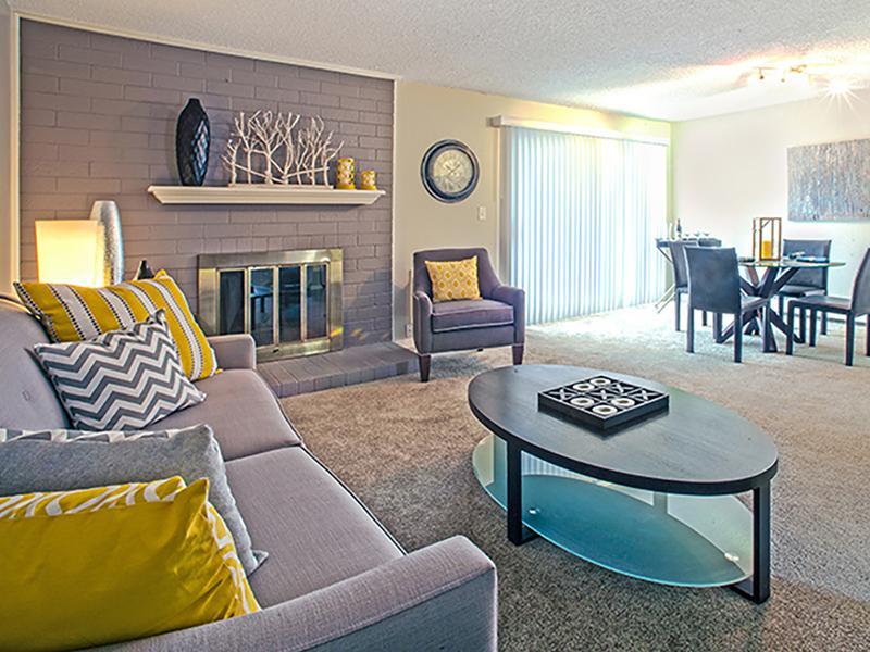 Living Room | Arabella Apartments