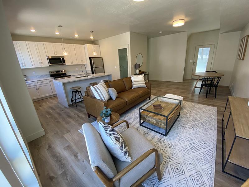 Living Room | Monarch Homes in Millcreek, UT