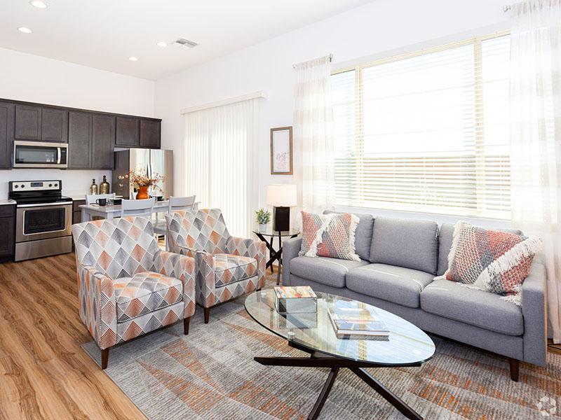 Model Living Room | Hampton East