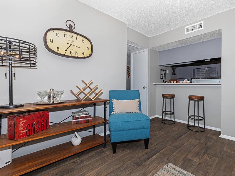 Living Room | Melia Apartments in San Antonio