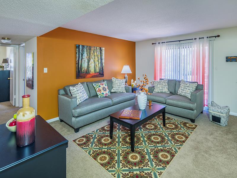 Living Room    Briarwood Apartments