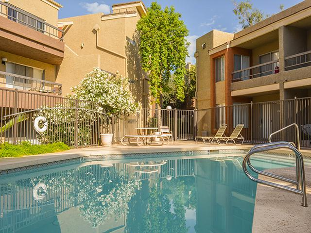 Swimming Pool | Crystal Creek Apartments in Arizon