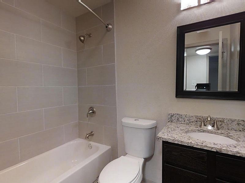 San Antonio Station   Renovated Bathroom   San Antonio Apartment