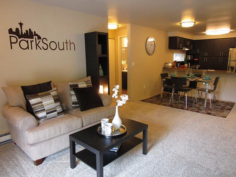Park South Apartments Signage