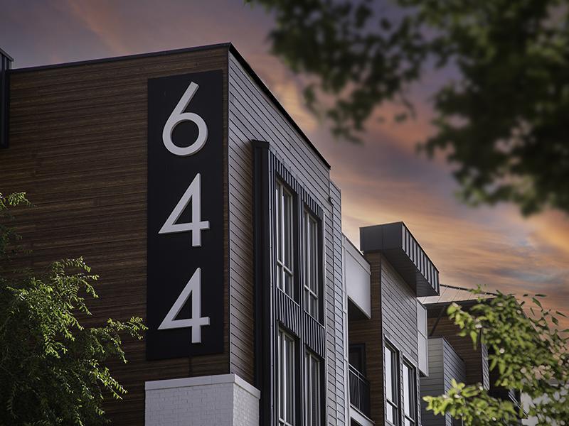 644 Sign | 644 City Station Apartments in Salt Lake City, UT