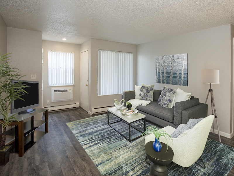 Lincoln Springs Apartments | Living Room Model
