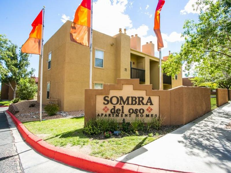Sign   Sombra del Oso Apartments in Albuquerque NM