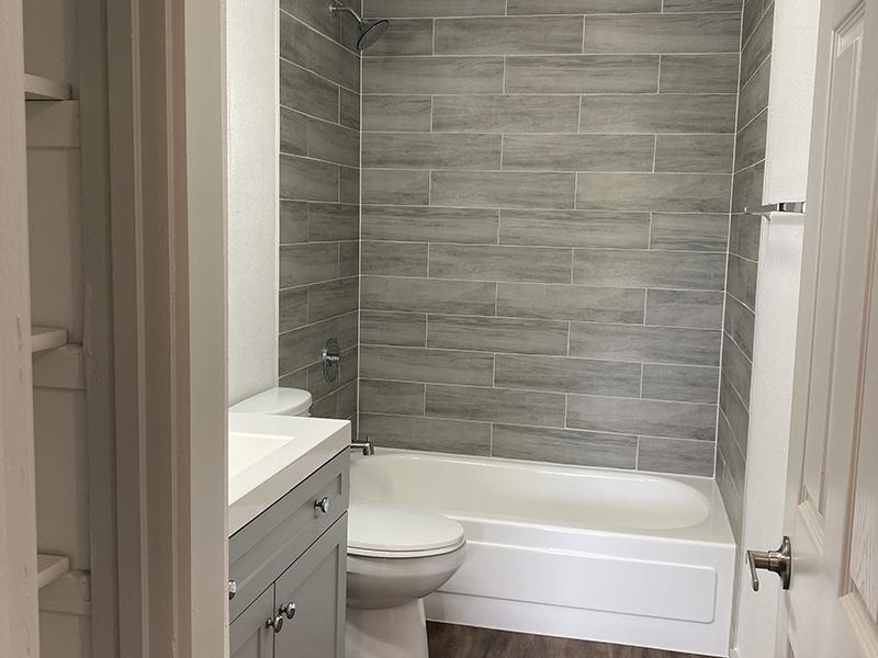 Bathroom 3 | SkyVue Apartments in San Antonio, TX