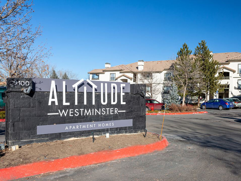Welcome Sign | Altitude Westminster