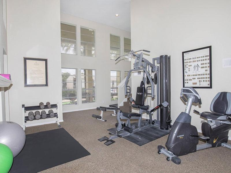 San Antonio Station   Apartment Gym   San Antonio Apartments