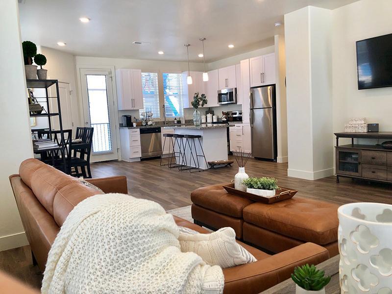 Living Room | Aero Townhomes