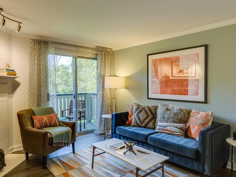 Living Room | The Preserve at Forbes Creek