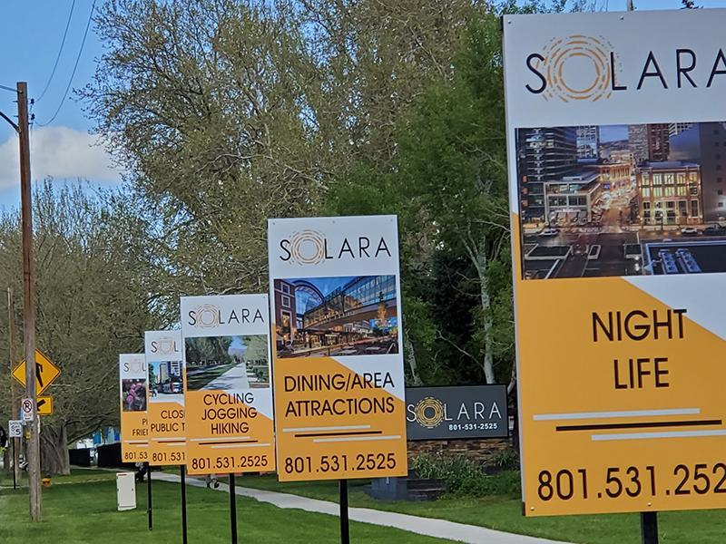 Signage | Solara Apartments