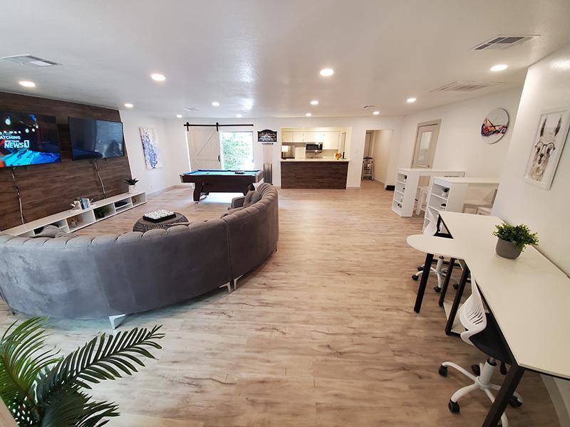 Social Room | Woodway Apartments in San Antonio, TX