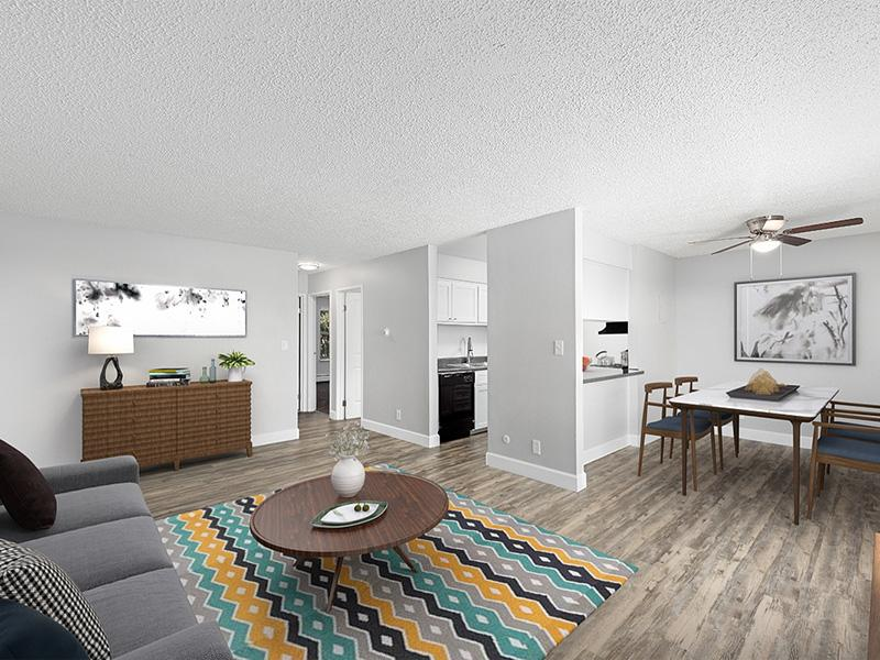 Front Room | The Station Apartments