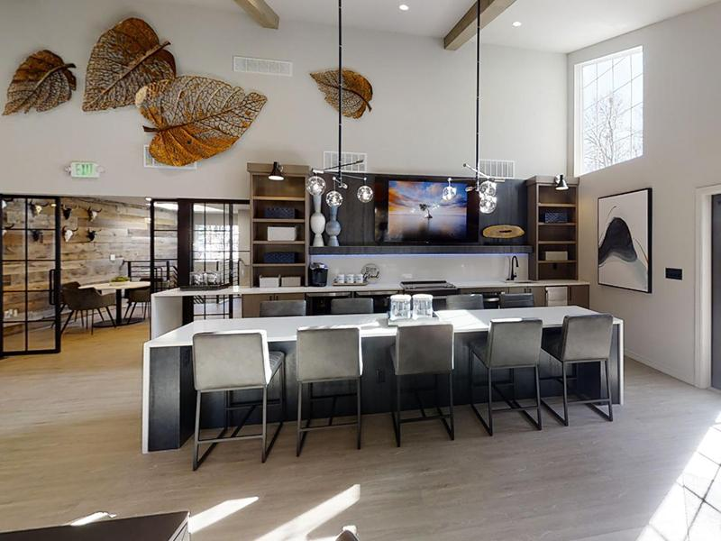 Clubhouse Kitchen | Arbors at Sweetgrass